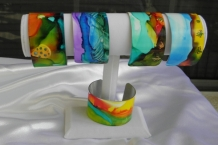 Painted Bracelet Cuffs